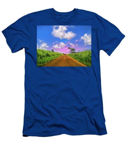 Sugar Cane Sunrise Men's T-Shirt (Athletic Fit)
