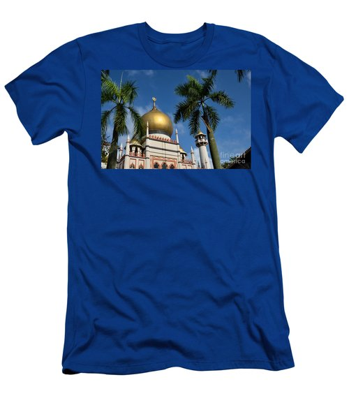 Sultan Masjid Mosque Singapore Men's T-Shirt (Athletic Fit)