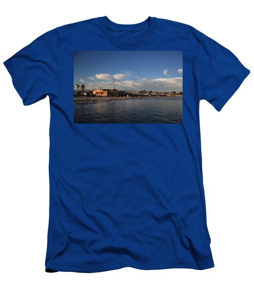 Summer Evenings In Santa Cruz Men's T-Shirt (Athletic Fit)