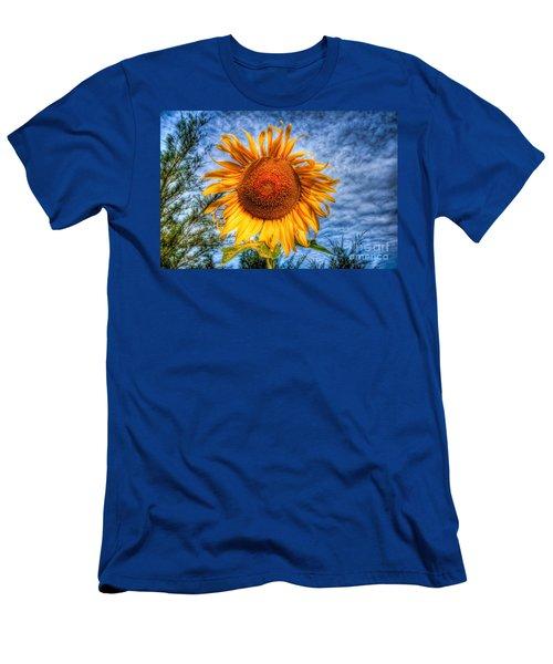 Sun Flower Men's T-Shirt (Athletic Fit)