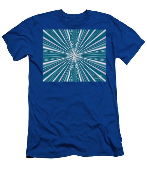 Men's T-Shirt (Slim Fit) featuring the digital art Sunburst In The Rain by Luther Fine Art