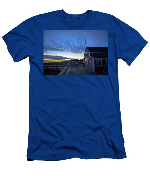 Sunrise At Barnstable Yacht Club Men's T-Shirt (Athletic Fit)