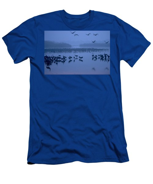 Sunrise Over The Hula Valley Israel 4 Men's T-Shirt (Athletic Fit)