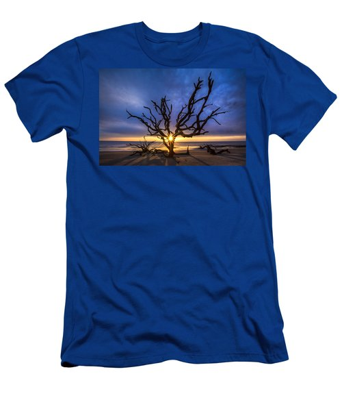 Men's T-Shirt (Athletic Fit) featuring the photograph Sunrise Jewel by Debra and Dave Vanderlaan