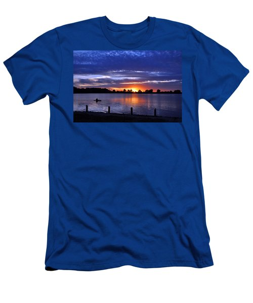 Sunset At Creve Coeur Park Men's T-Shirt (Athletic Fit)