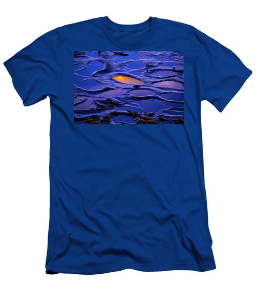 Sunset In Tide Pools Men's T-Shirt (Athletic Fit)