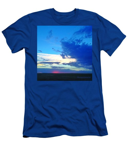Sunset Washington Style  Men's T-Shirt (Athletic Fit)