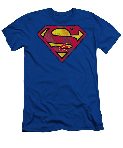 Superman - Action Shield Men's T-Shirt (Slim Fit) by Brand A