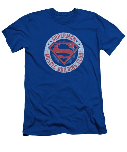 Superman - Muscle Club Men's T-Shirt (Athletic Fit)