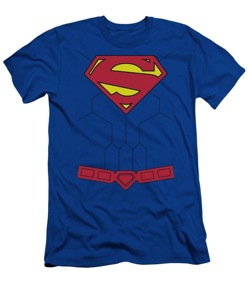 Superman - New 52 Torso Men's T-Shirt (Athletic Fit)
