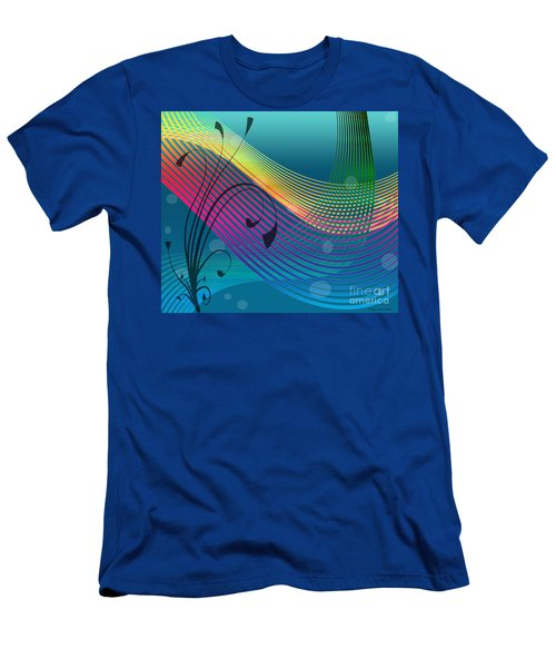 Sweet Dreams Abstract Men's T-Shirt (Slim Fit) by Megan Dirsa-DuBois