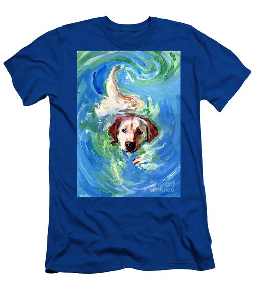 Swirl Pool Men's T-Shirt (Athletic Fit)
