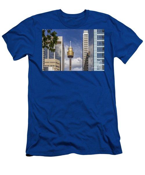 Sydney Tower Men's T-Shirt (Athletic Fit)