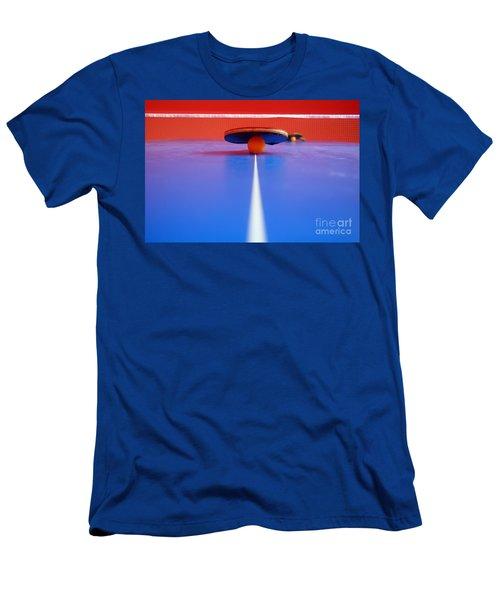 Table Tennis Men's T-Shirt (Athletic Fit)