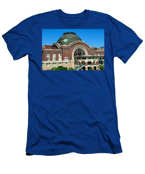 Tacoma Court House At Union Station Men's T-Shirt (Athletic Fit)