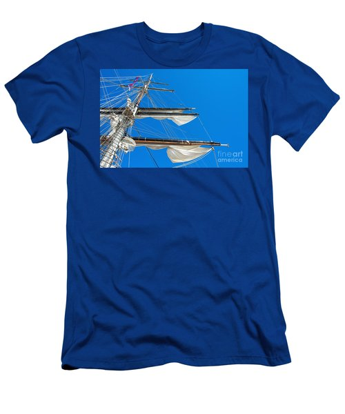 Tall Ship Yards Men's T-Shirt (Athletic Fit)