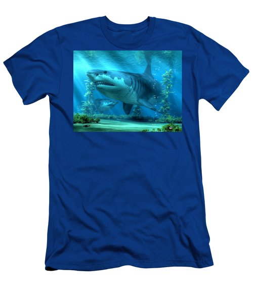 The Biggest Shark Men's T-Shirt (Athletic Fit)
