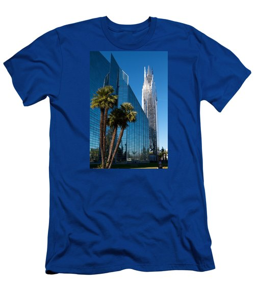 The Crystal Cathedral  Men's T-Shirt (Slim Fit) by Duncan Selby