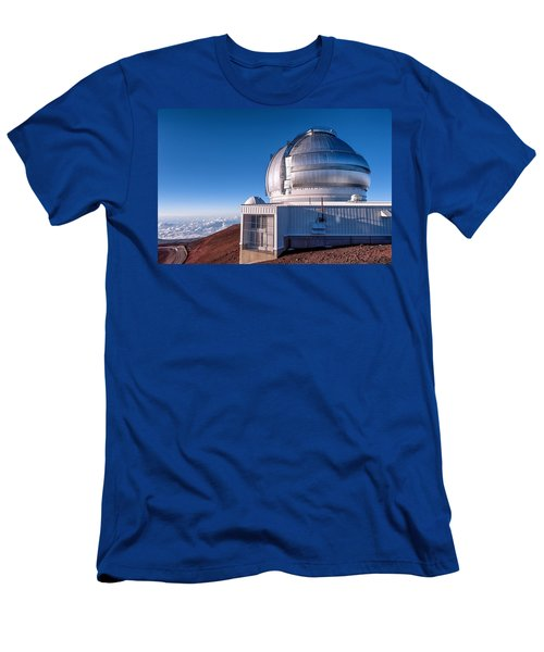 Men's T-Shirt (Slim Fit) featuring the photograph The Gemini Observatory by Jim Thompson