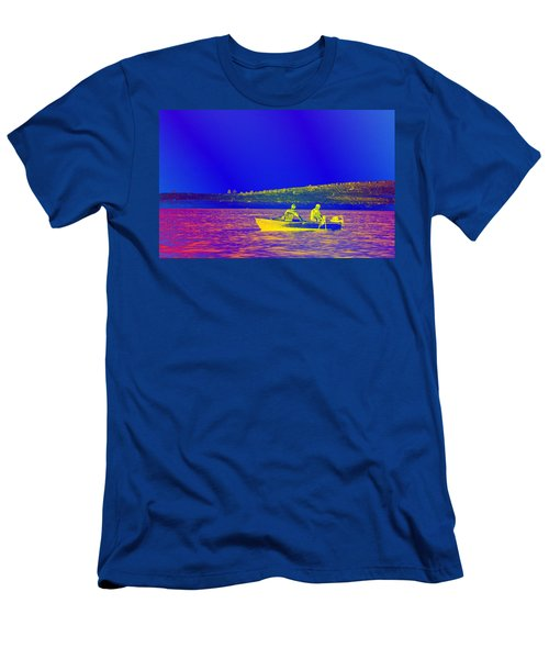 Men's T-Shirt (Slim Fit) featuring the photograph The Lazy Sunday Afternoon by David Pantuso