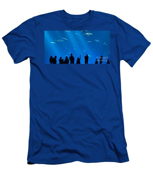 The Magnificent Open Sea Exhibit At The Monterey Bay Aquarium. Men's T-Shirt (Athletic Fit)