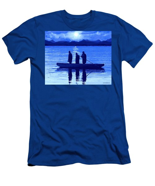 The Night Fishermen Men's T-Shirt (Athletic Fit)