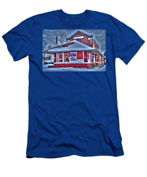 The Old Train Station Men's T-Shirt (Athletic Fit)