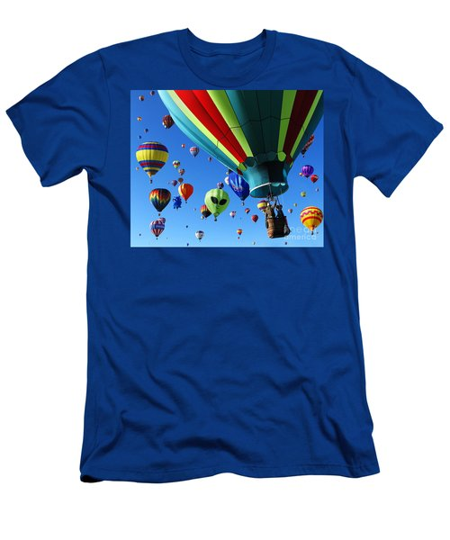 The Sky Is Full Men's T-Shirt (Slim Fit) by Vivian Christopher