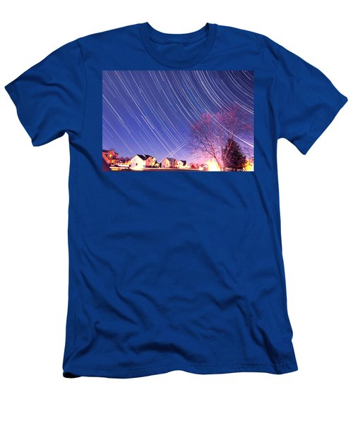 The Star Trails Men's T-Shirt (Athletic Fit)