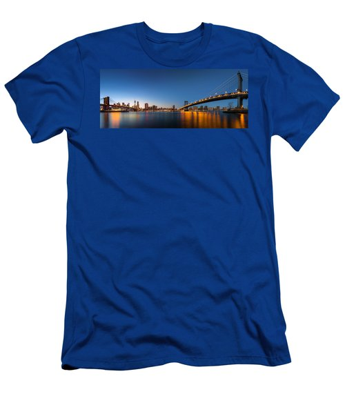 The Two Bridges Men's T-Shirt (Athletic Fit)