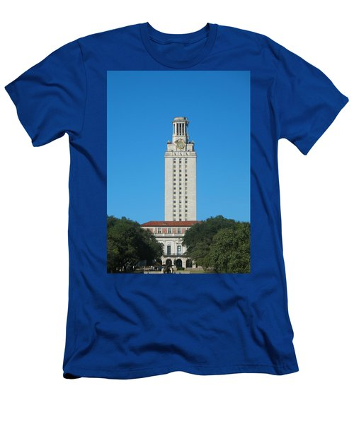The University Of Texas Tower Men's T-Shirt (Athletic Fit)