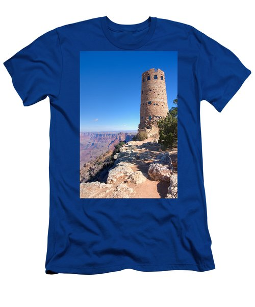 Men's T-Shirt (Slim Fit) featuring the photograph The Watchtower by John M Bailey