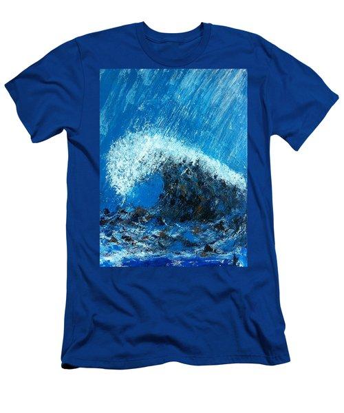 The Wave Men's T-Shirt (Athletic Fit)