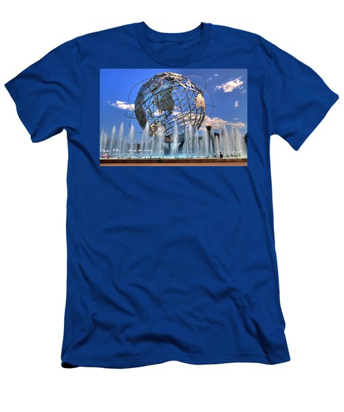 The Whole World In My Hands Men's T-Shirt (Athletic Fit)