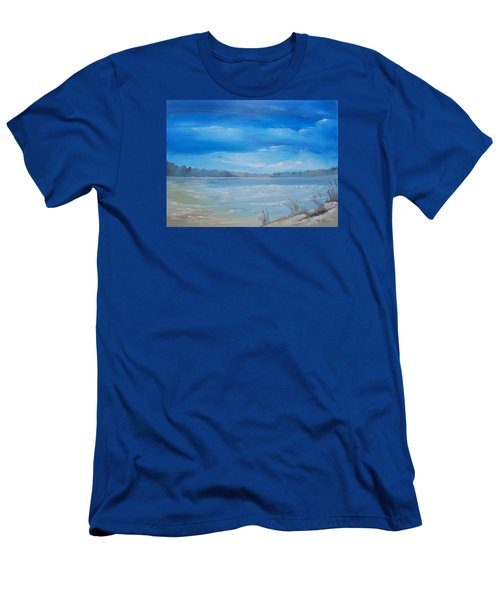 Tides In Men's T-Shirt (Athletic Fit)