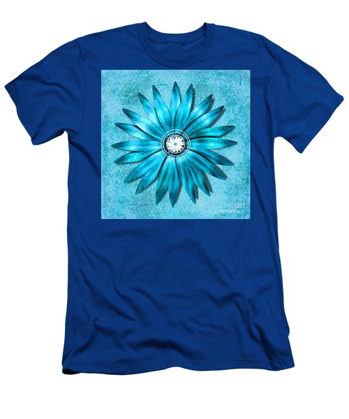 Tiffany Blue And Diamonds Too Men's T-Shirt (Athletic Fit)