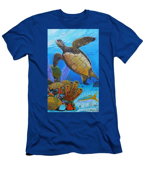 Tortuga Men's T-Shirt (Athletic Fit)