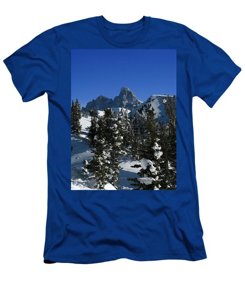Men's T-Shirt (Slim Fit) featuring the photograph Towering Above Lies The Grand by Raymond Salani III