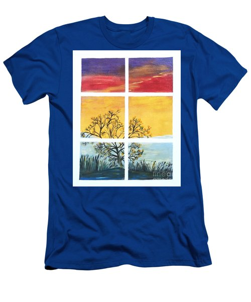 Tranquil View Men's T-Shirt (Athletic Fit)