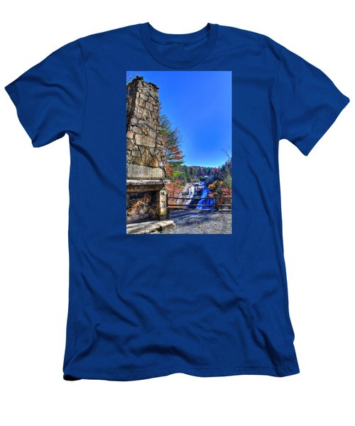 Triple Falls 2 Men's T-Shirt (Athletic Fit)