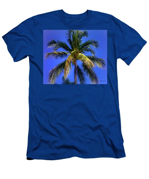 Tropical Palm Trees 8 Men's T-Shirt (Athletic Fit)