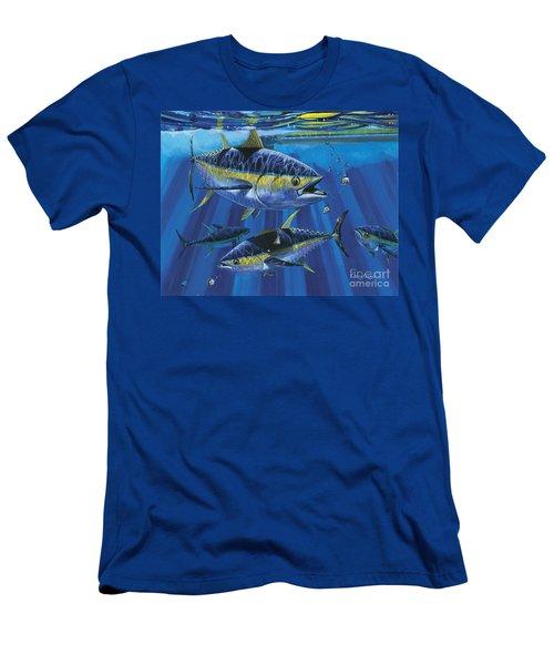 Tuna Blitz Off0039 Men's T-Shirt (Athletic Fit)