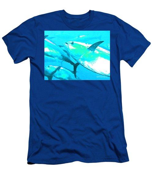 Tuna Fish P88 Men's T-Shirt (Athletic Fit)