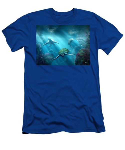 Turtle Alley Men's T-Shirt (Athletic Fit)