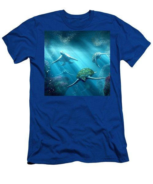 Turtle Alley Men's T-Shirt (Athletic Fit)