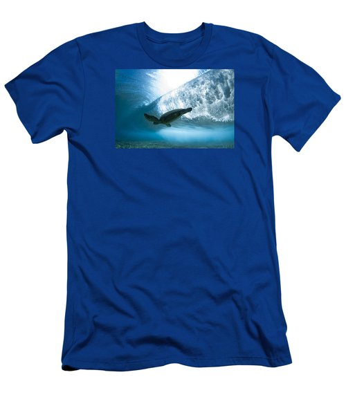 Turtle Clouds Men's T-Shirt (Athletic Fit)