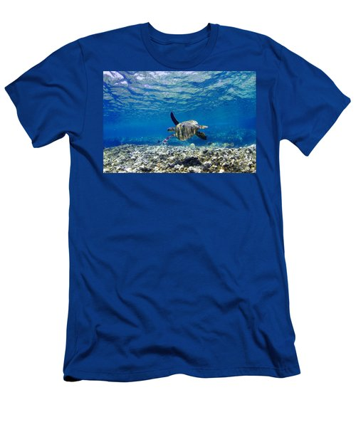 Turtle Cruise Men's T-Shirt (Athletic Fit)