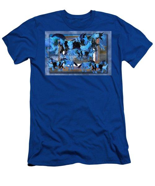 Unconfined World Confined Men's T-Shirt (Athletic Fit)