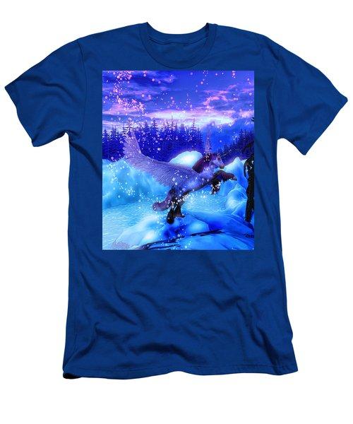 Unicorn Men's T-Shirt (Slim Fit) by David Mckinney