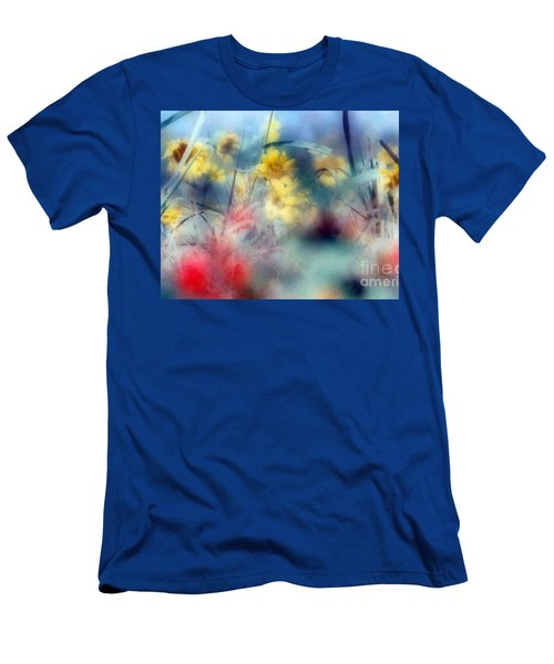 Men's T-Shirt (Slim Fit) featuring the photograph Urban Wildflowers by Michael Hoard